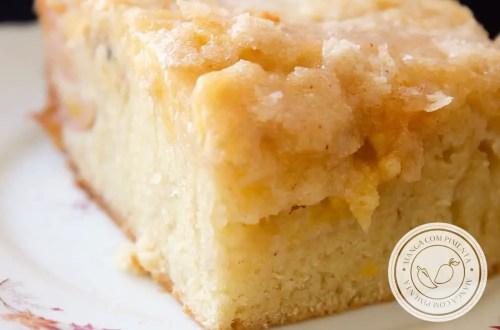 Receita de Bolo Cuca de Banana - um bolo delicioso para o lanche da tarde!