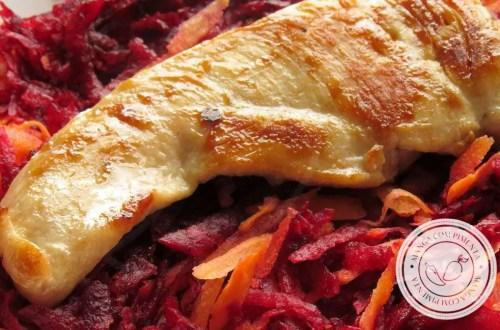 Salada de Beterraba com Cenoura - nutritivo e delicioso para quem faz reeducação alimentar!