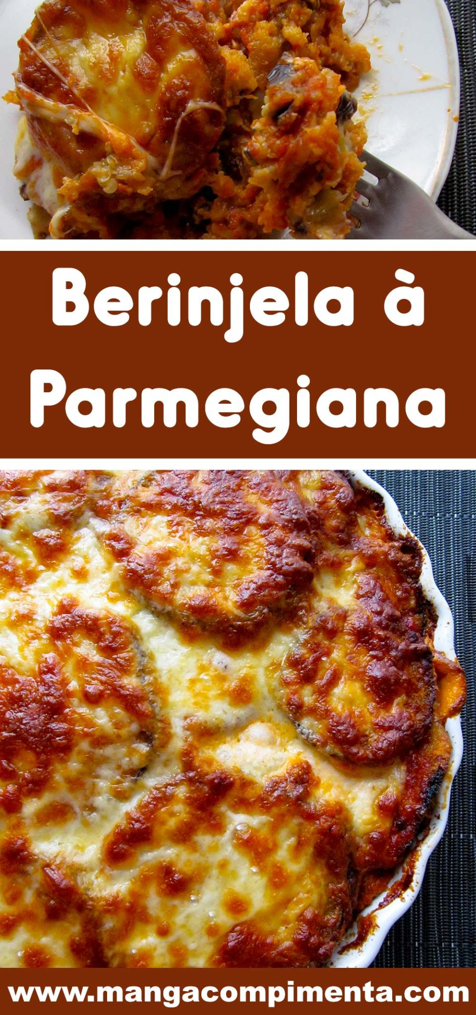 Berinjela à Parmegiana do Chefe Buddy Valastro - um verdadeiro almoço.