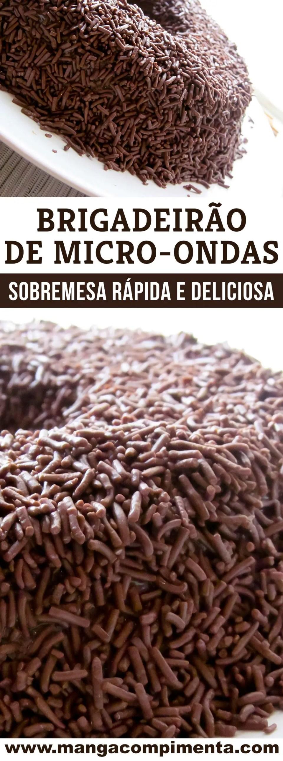 Brigadeirão de Micro-ondas | A melhor sobremesa de chocolate!