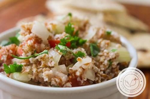 Receita de Tabule - uma salada deliciosa para os dias quentes do verão.