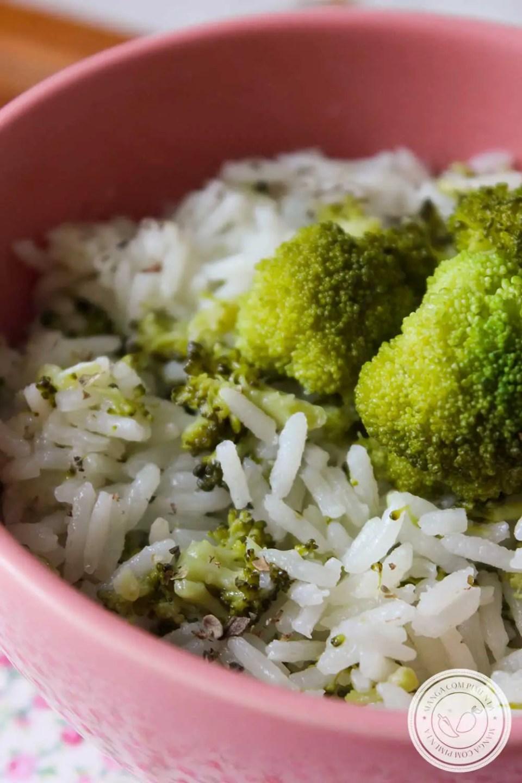 Receita de Arroz com Brócolis ao Limone - prepare esse arroz para a refeição da família dessa semana.