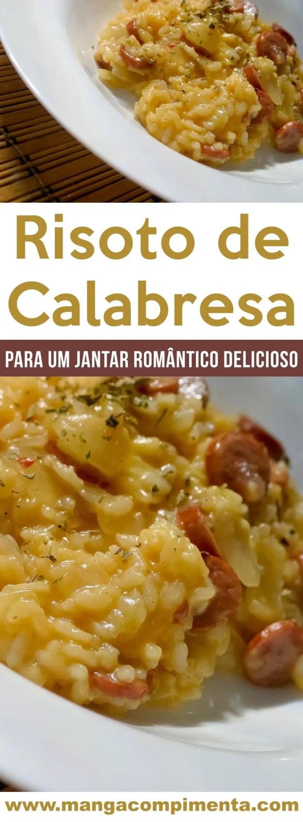 Risoto de Calabresa - um prato delicioso e quentinho para os dias frios!