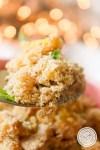 Receita de Farofa de Banana e Manga - um prato natalino com gosto especial das frutas.