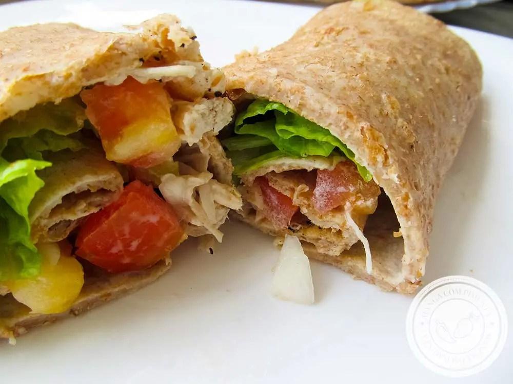 Massa de Panqueca Integral - um prato nutritivo e delicioso para o verão!