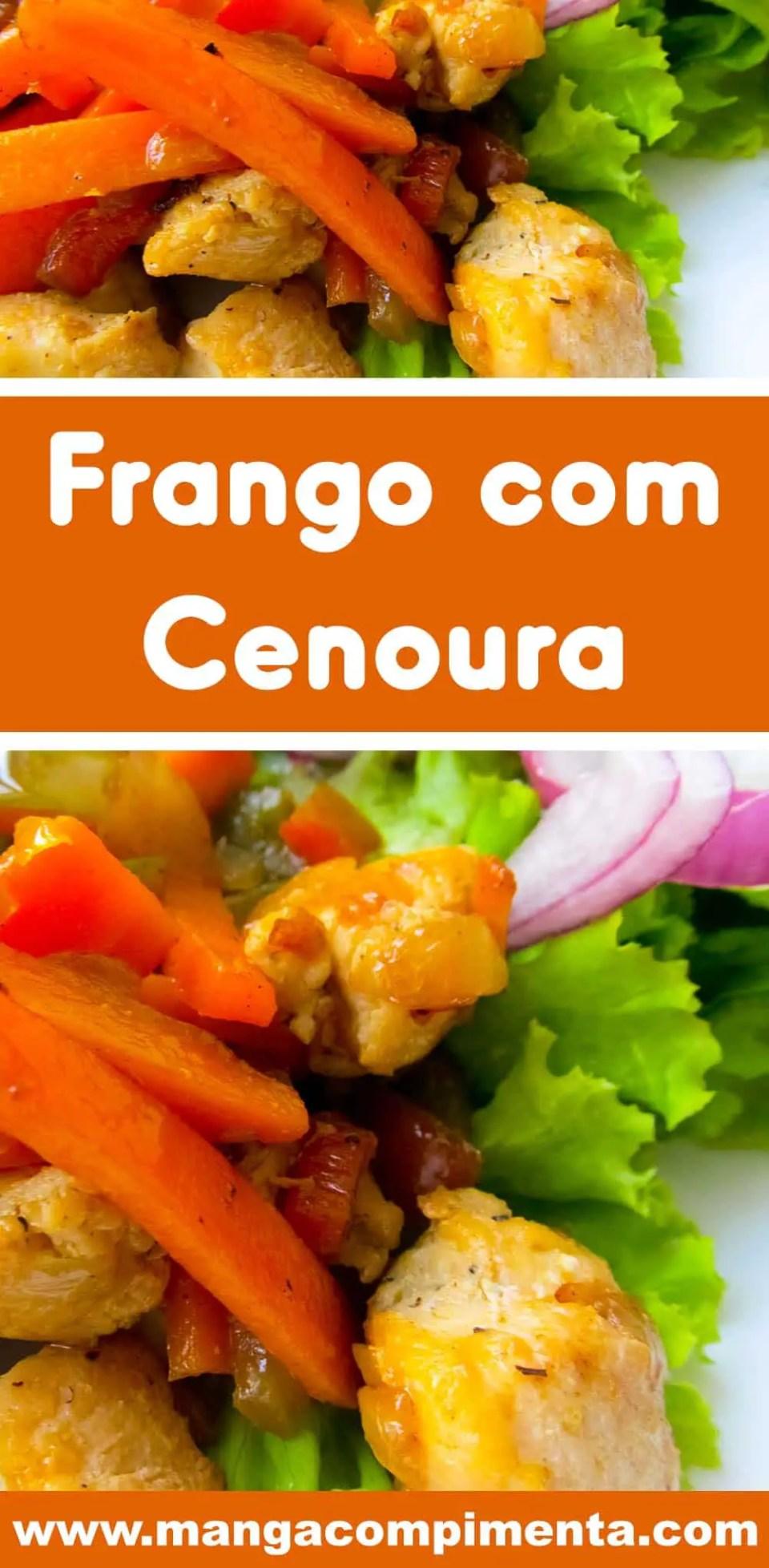 Frango com Cenoura - fácil de fazer para o dia a dia!
