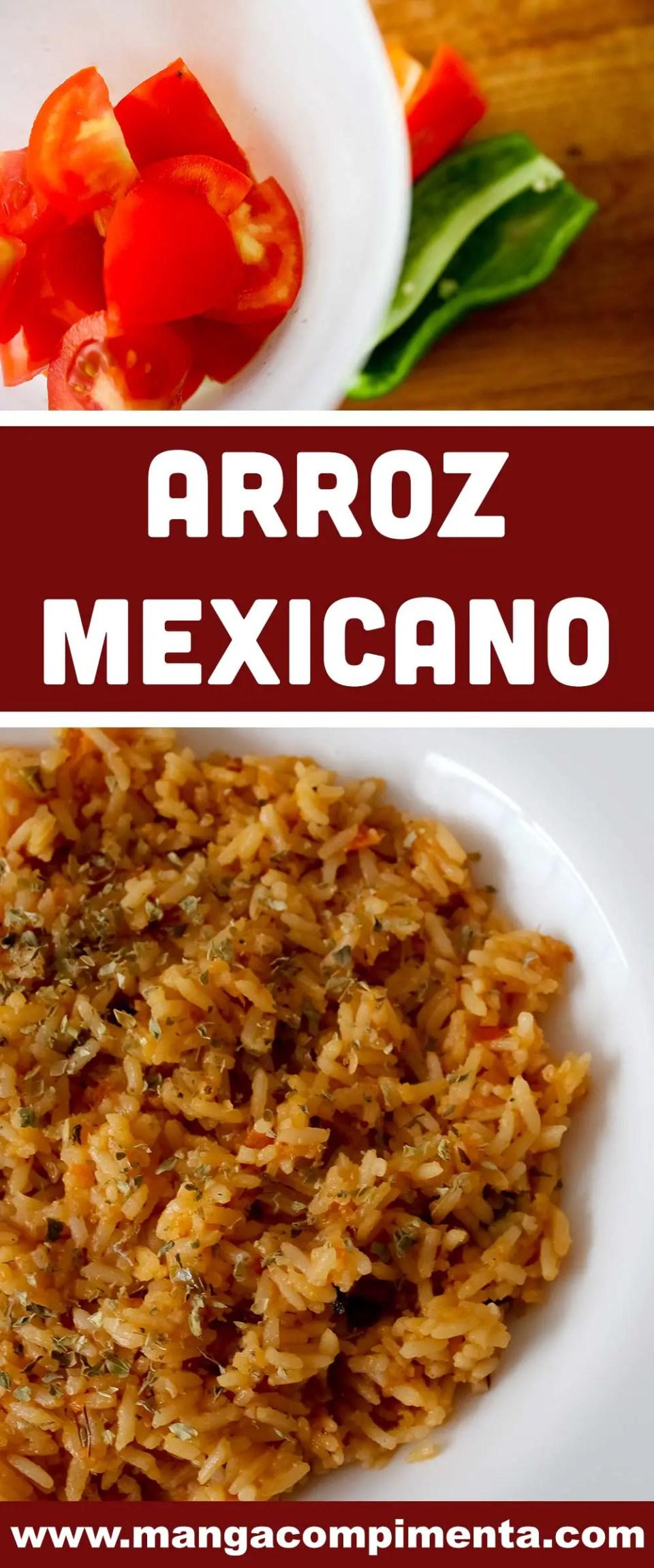 Arroz Mexicano - prepare um almoço diferente em casa!