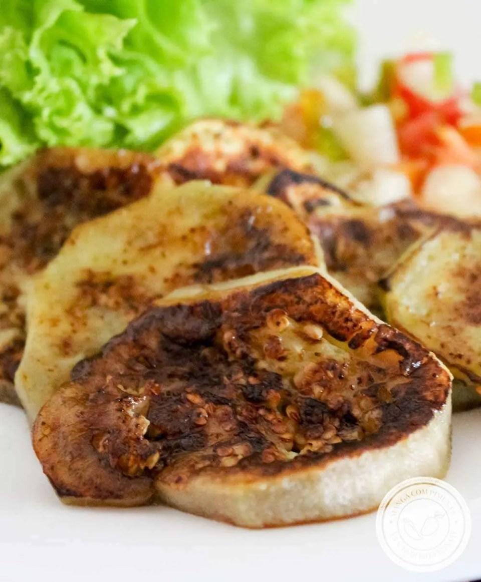 Berinjela Grelhada - um prato delicioso para quem quer comer bem!