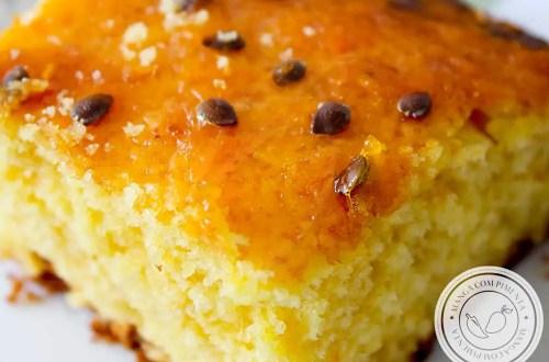Receita de Bolo de Maracujá fofinho - para alegrar o café da manhã ou para oferecer no lanche da tarde.