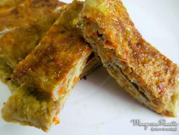 Omelete de Cenoura