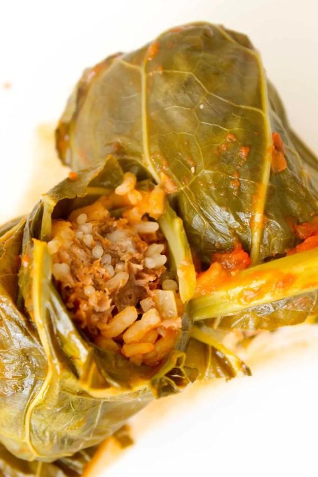 Receita de Charuto de Folha de Couve - deixe o almoço da sua família mais gostoso!