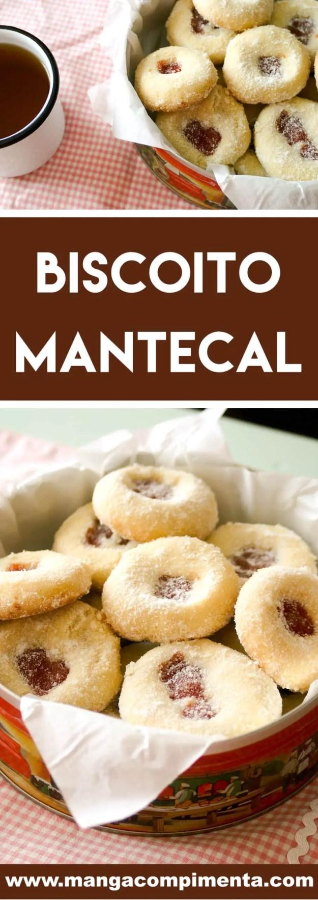 Receita de Biscoito de Mantecal - Youtube - sirva com uma xícara de chá!