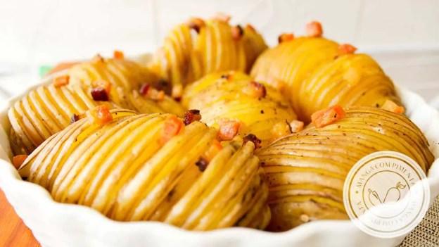Receita de Batata Assada Crocante - prepare um prato especial na Ceia de Natal e Ano Novo