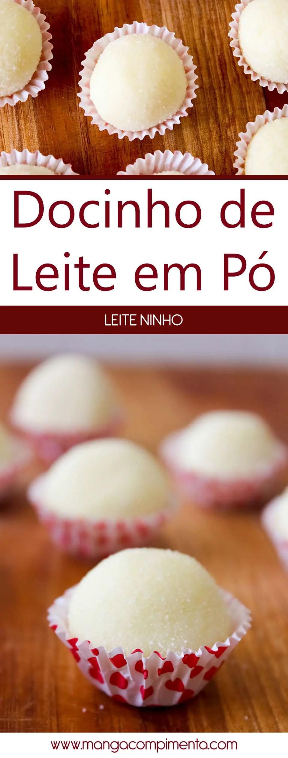 Docinho de Leite em Pó | Leite Ninho - receita para festas de aniversário