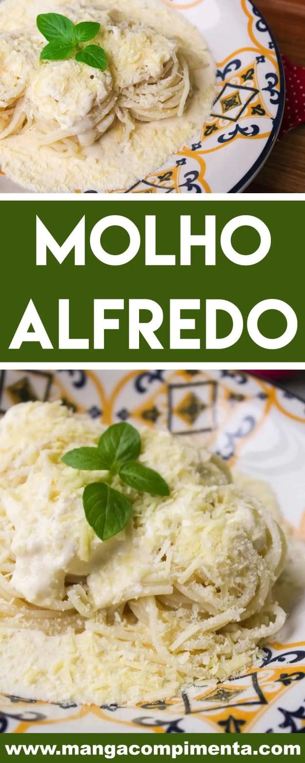 Receita de Molho Alfredo para Massas - prepare um prato italiano delicioso para alguém especial.