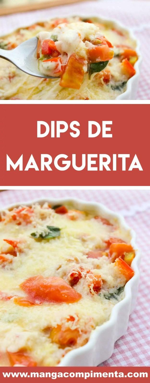 Receita de Dips de Marguerita - uma receita fácil e deliciosa para petiscar.