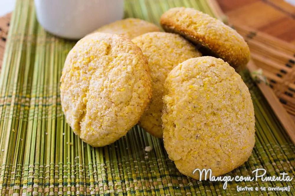 Receita deBiscoitinhos Broa de Milho | Cavaca