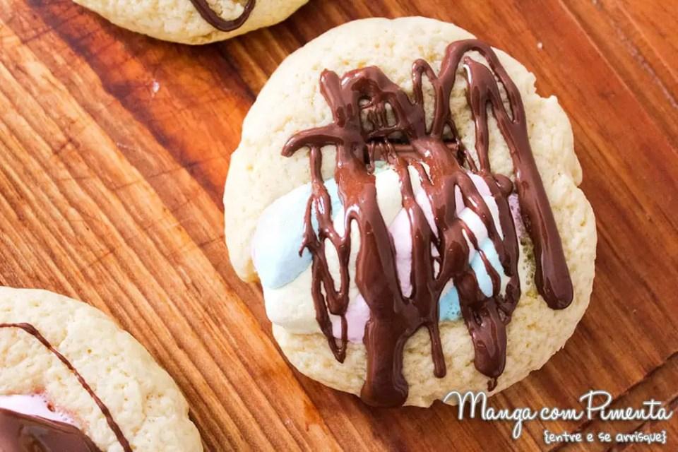 S'mores Cookies - Receita Americana