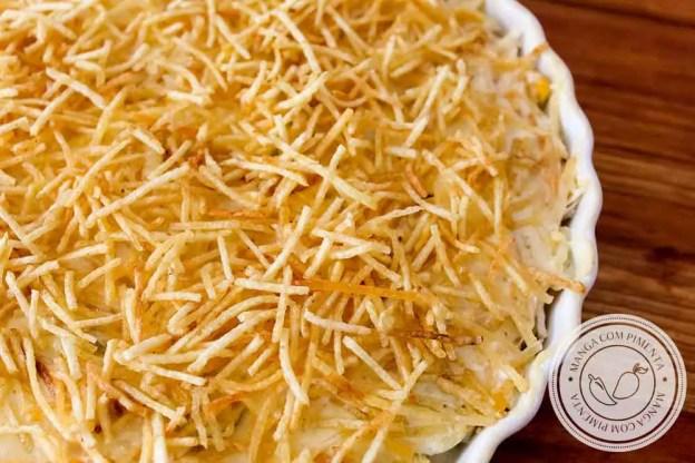 Receita de Fricassê de Frango - um clássico para o almoço da família.