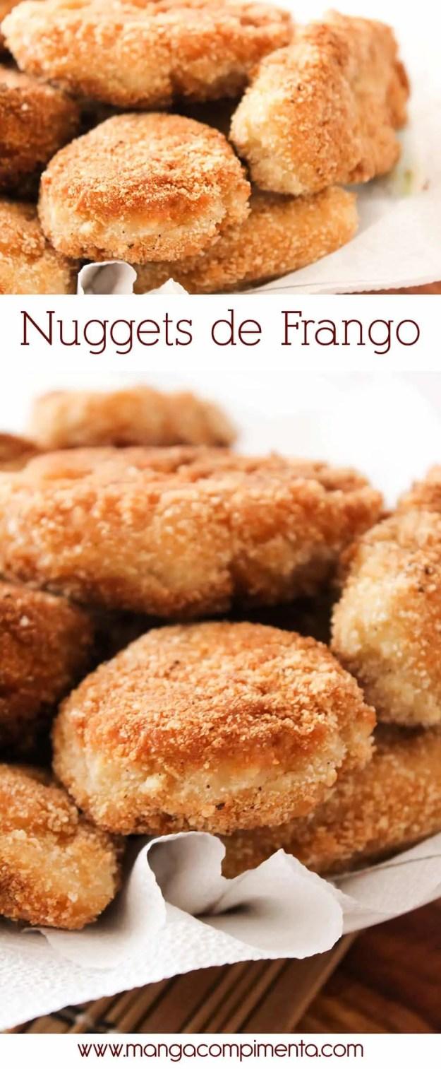Nuggets de Frango - saudável para o almoço da criançada!