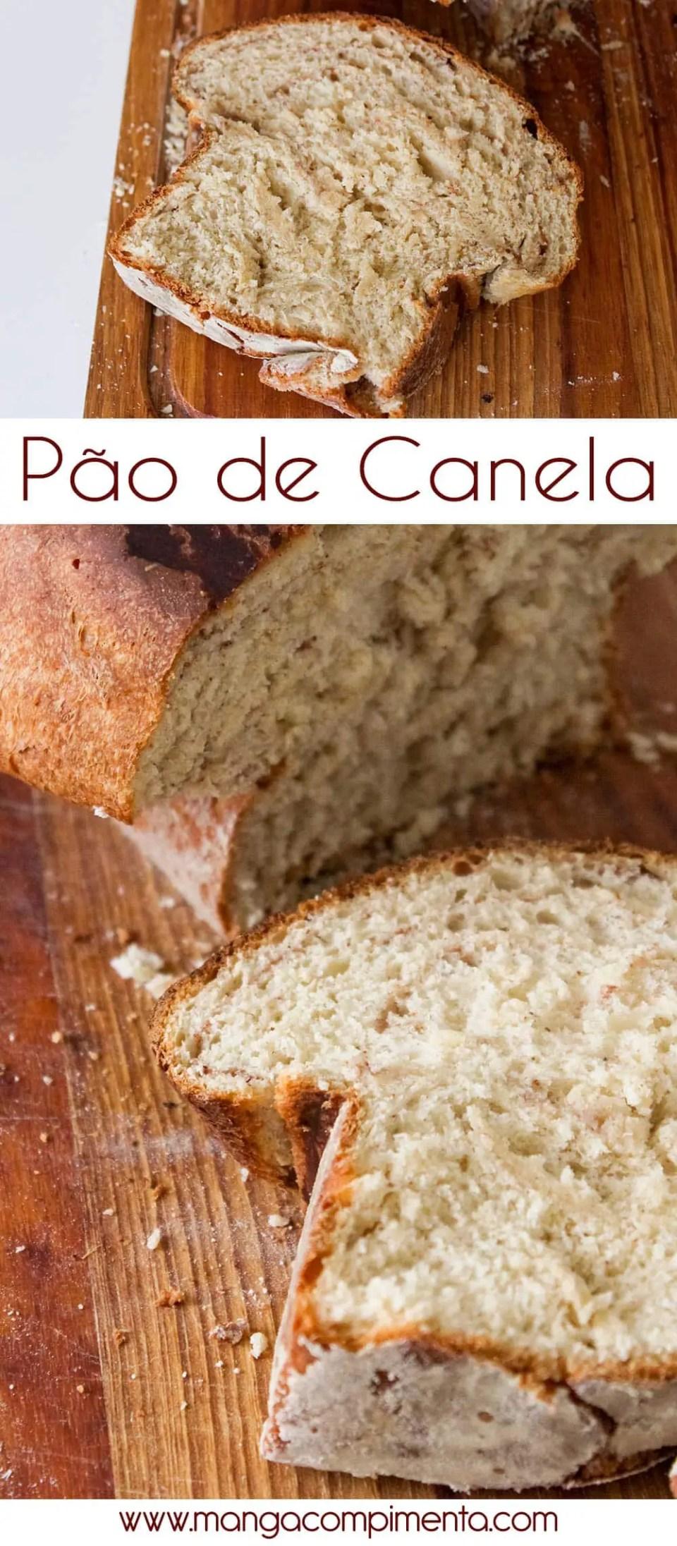 Pão de Canela - para um café da tarde delicioso!