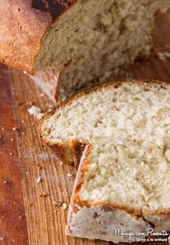 Pão de Canela - Caseiro