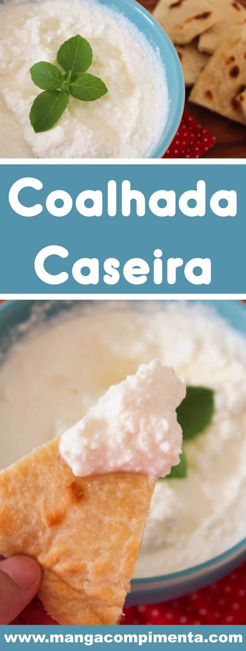Receita de Coalhada Caseira - um prato super nutritivo e delicioso para uma dieta.