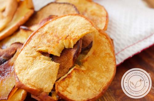 Receita de Chips de Maçã com Açúcar e Canela - Lanche perfeito para levar com você!