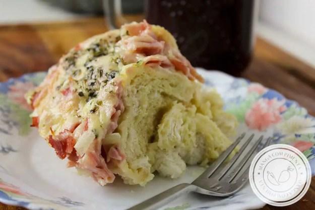 Receita da Torta de Pão Francês - Para um lanche da tarde delicioso com os amigos!