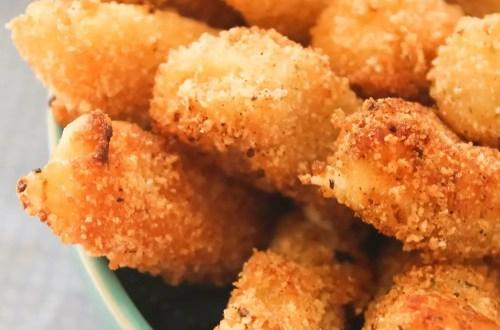 Palitos de Mozzarella Empanados - Stick de Queijo | Petiscos para o Verão