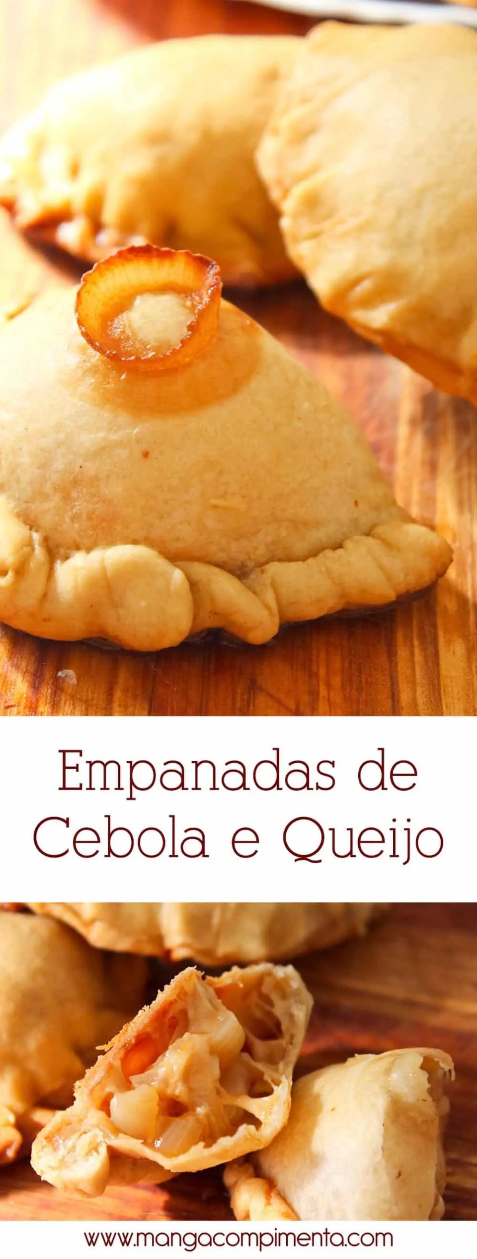 Empanadas Argentinas com Cebola e Queijo | Para um lanche delicioso e caprichado para o Verão