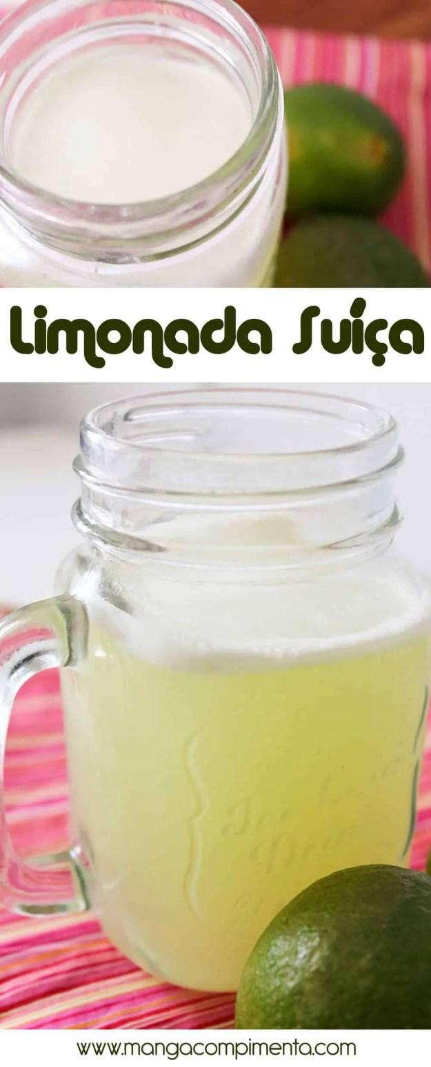 Como Fazer Limonada Suíça   Sem Leite Condensado   Bebida refrescante para o verão!
