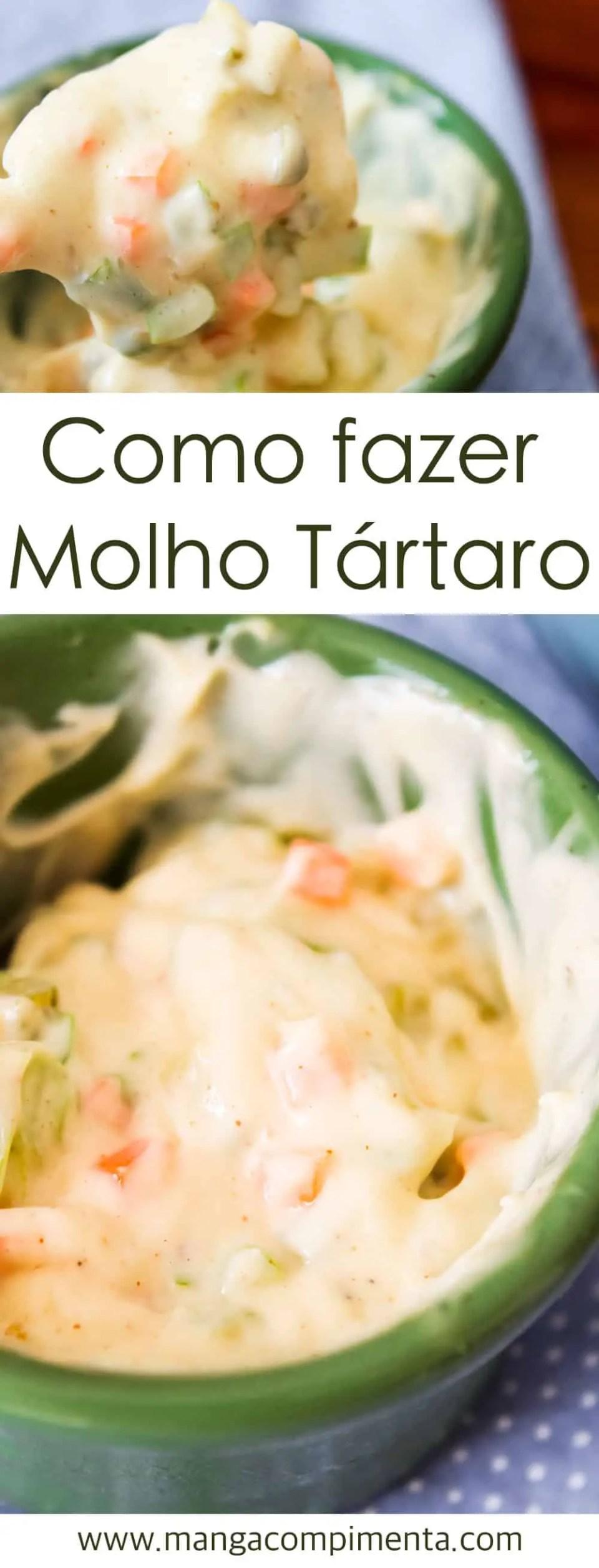 Como preparar Molho Tártaro   Receitas de Verão