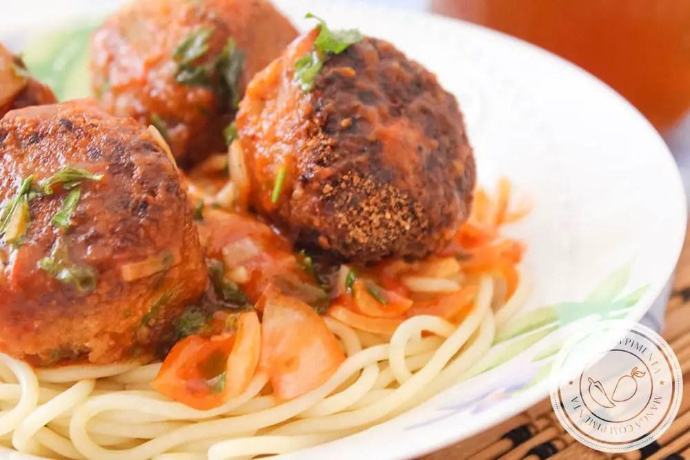 Almôndega de Berinjela | Uma receita vegetariana para o dia a dia!