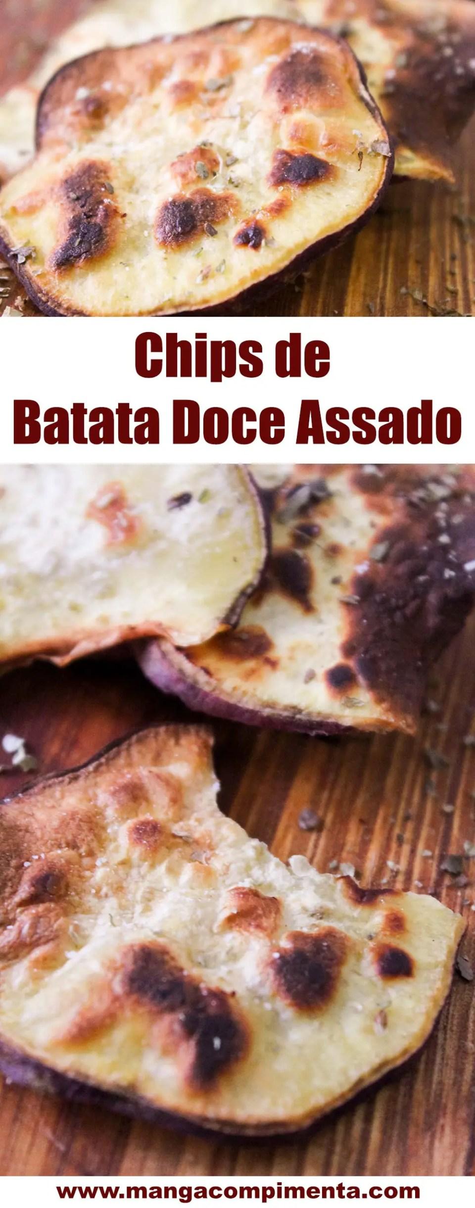 Chips de Batata Doce Assado | Aprenda a fazer esse petisco saudável em casa!