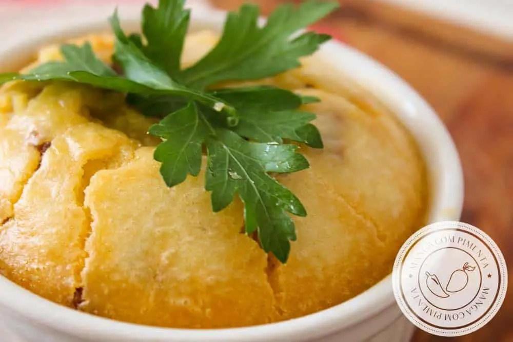 Torta de Liquidificador de Carne Moída - almoço express durante a semana!