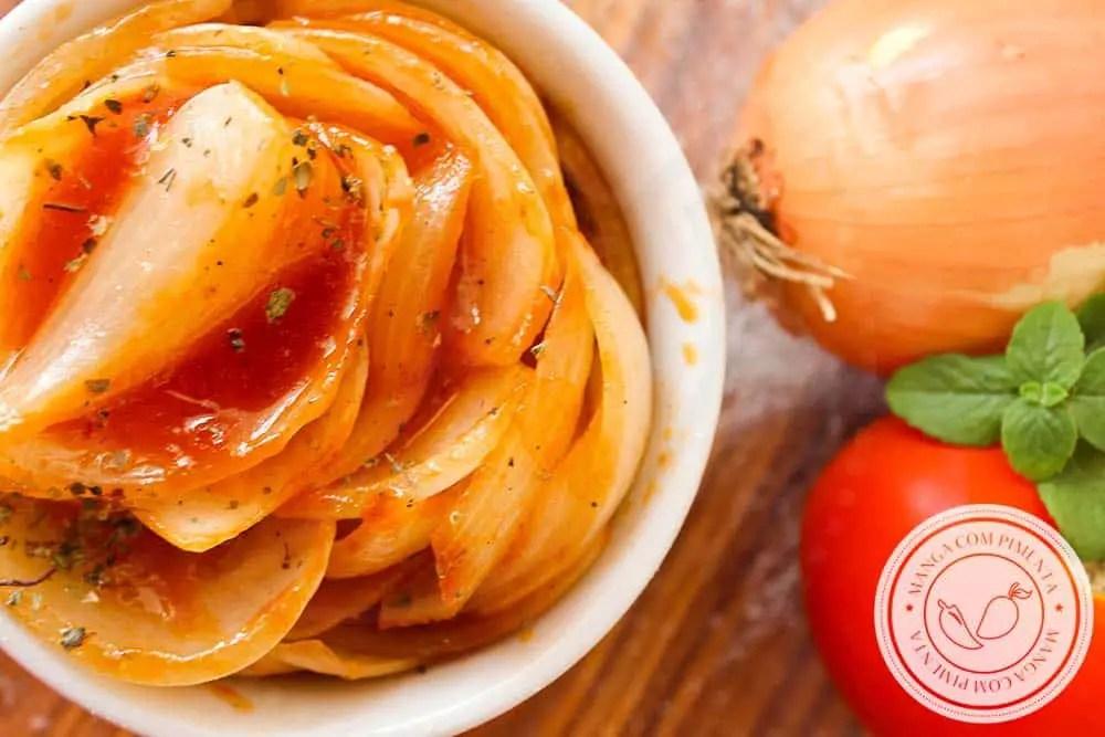 Cebolas Italianas | Para Beliscar ou Colocar Naquele Hamburgão Gostoso!