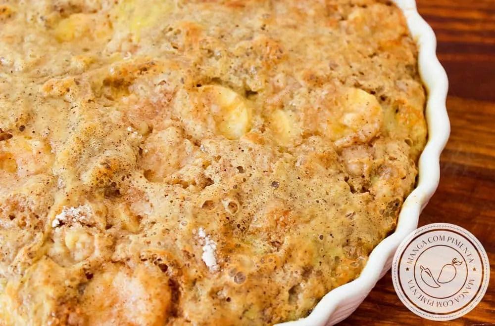 Faça uma Torta de Banana Preguiçosa ainda hoje | Café da Tarde