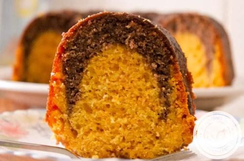Bolo de Cenoura e Brownie - uma delícia para o café da manhã ou lanche da tarde