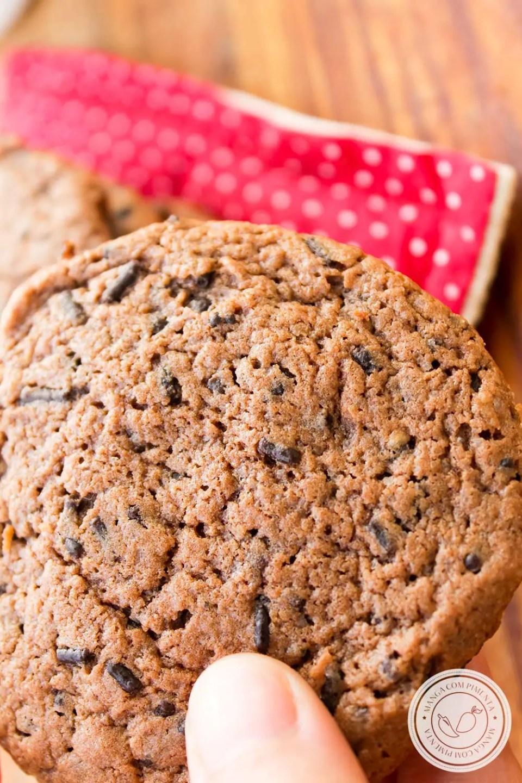 Cookies de Chocolate Formigueiro - para o lanche da tarde com as amigas!