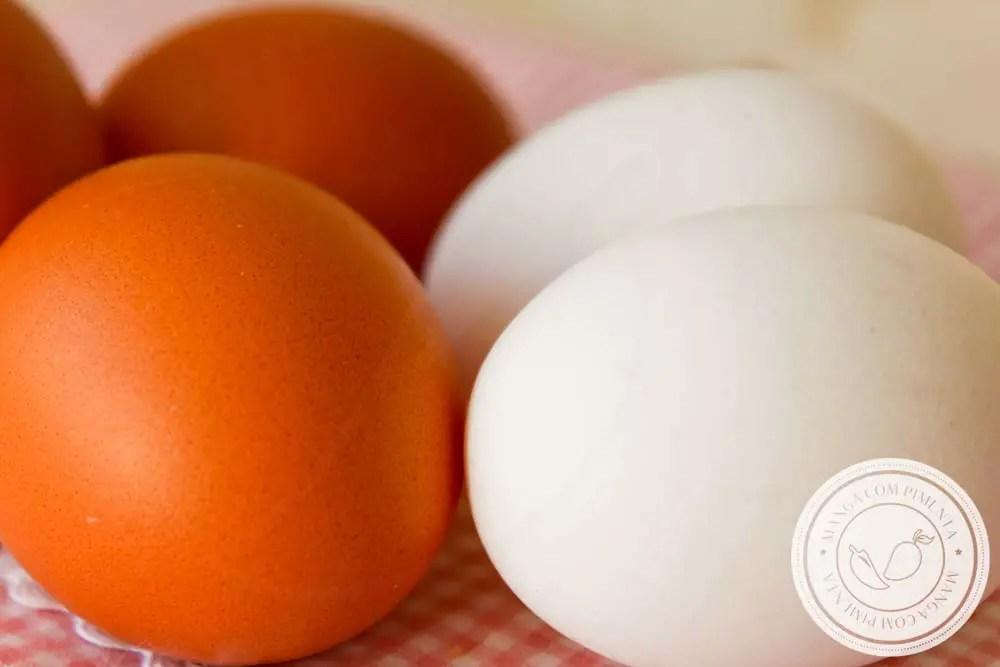 Ovos Brancos e Vermelhos, qual é a diferença entre eles? Qual é mais nutritivo? Vamos conhecer mais sobre esse alimento.