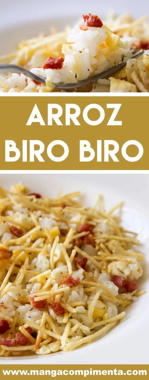 Receita de Arroz Biro Biro - super fácil de fazer, prepare ainda hoje essa delícia!