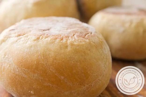 Receita de Muffins Inglês Caseiro - um pãozinho inglês para o lanche da tarde!