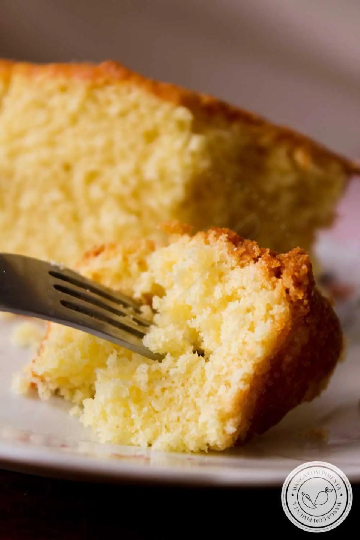 Receita de Bolo Inglês Sabor Laranja - uma delícia para o café da manhã ou lanche da tarde da família!