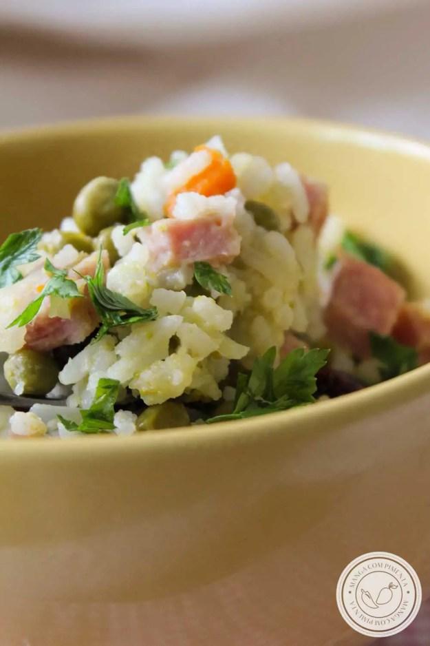 Receita de Arroz com Tender - prepare essa delícia para o almoço!