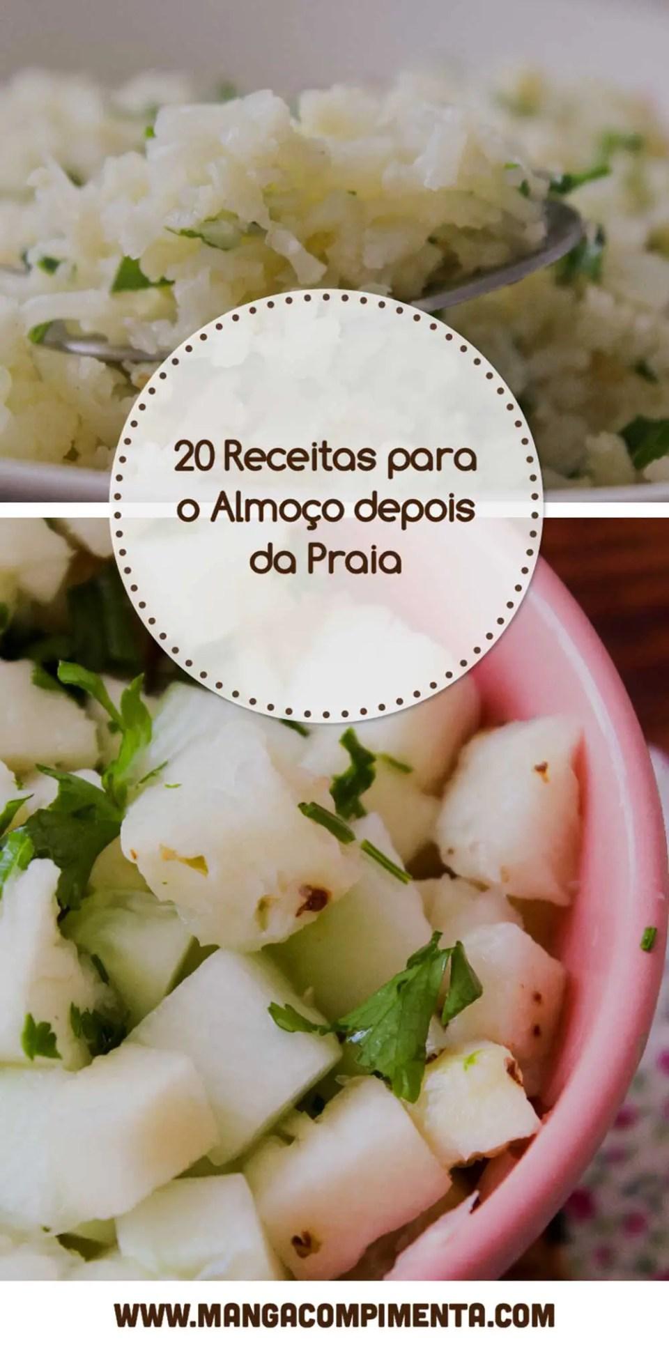 Receitas para o almoço depois da Praia - veja uma coleção de pratos deliciosos para o verão!