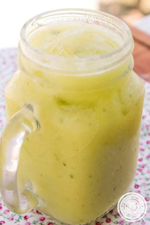 Receita de Limonada Indiana - uma deliciosa bebida com limão e abacate para os dias quentes!