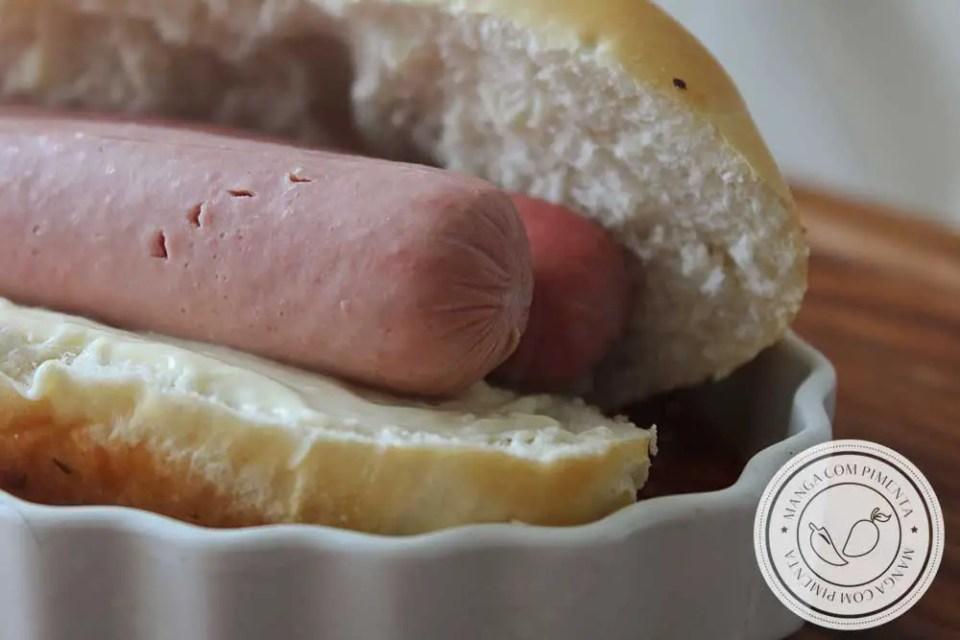 Receita de Lanche Hot Dog no Forno Completo - um prato delicioso para o lanche da tarde da família!