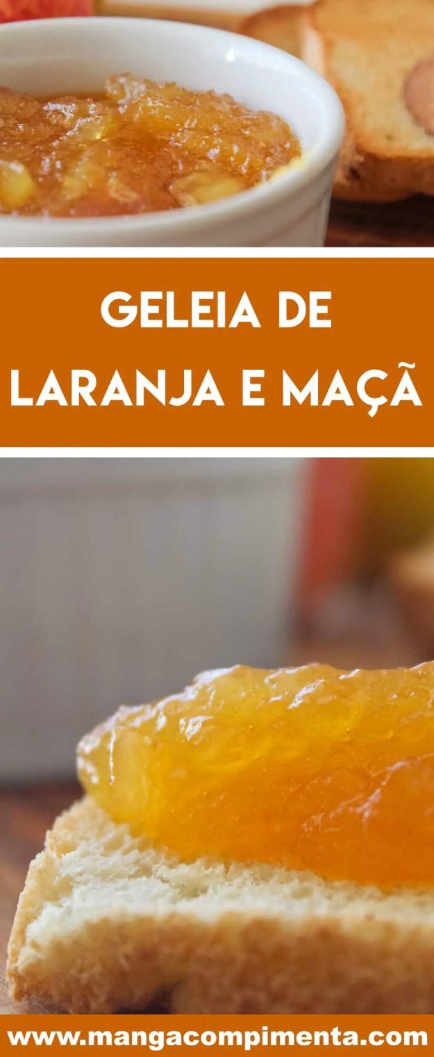 Receita de Geleia de Laranja e Maçã - delicioso para servir no café da manhã ou o lanche da tarde!