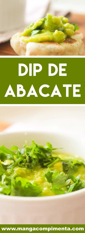 Receita de Dip de Abacate- um prato vegano para receber os amigos!